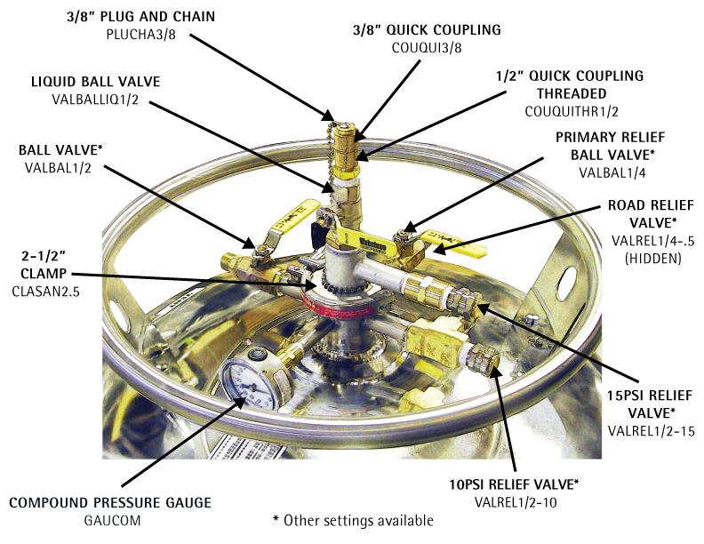 Liquid Helium Dewar Parts - Cryogenic Equipment Solutions ...