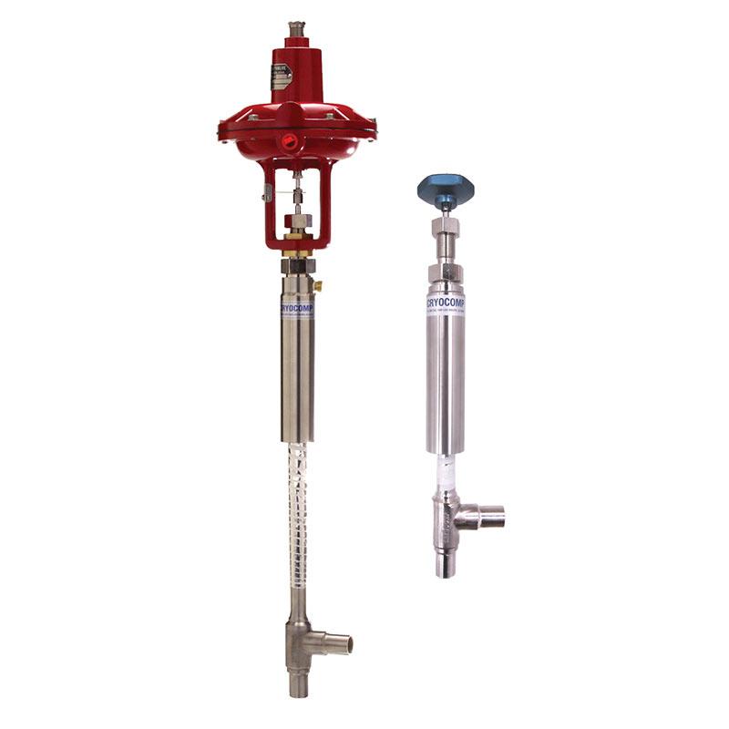 cryogenic coldbox valve