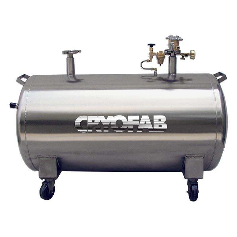 horizontal cryogenic storage