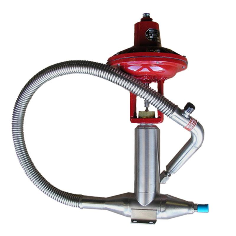 liquid nitrogen hose with valve